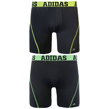 Picture of adidas Men's 9-Inch Sport Performance ClimaCool Midway Underwear (2-Pack) M
