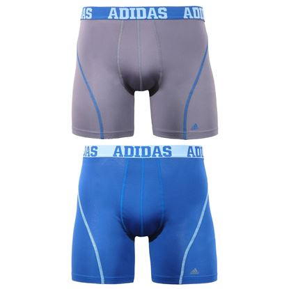 Picture of adidas Men's Sport Performance ClimaCool Boxer Underwear (2-Pack) zise S