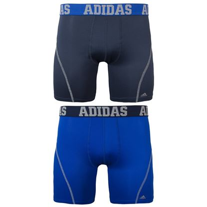Picture of adidas Men's Sport Performance Climacool Boxer Brief Underwear Bold   X-Larg