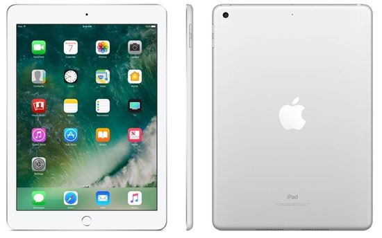 Picture of Apple iPad with WiFi, 32GB, Silver (2017 Model)